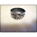 Aqua Line - Men of Thumb Rings - Steel In Style - TATTOO